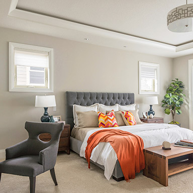 interior real estate photography of bedroom